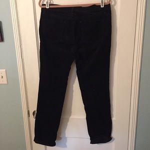 Loft black corduroy pants, 10 tall